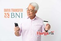 Biaya transfer BNI ke BRI atau BCA dan bank lain Rp 6…