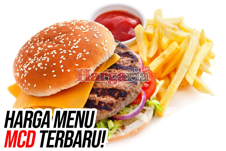 harga burger mcd